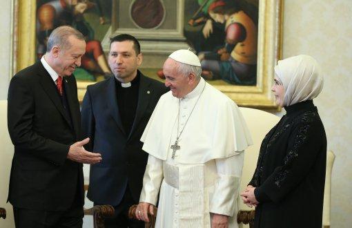 Erdoğan Papa'yla görüştü: Vatikan'dan açıklama