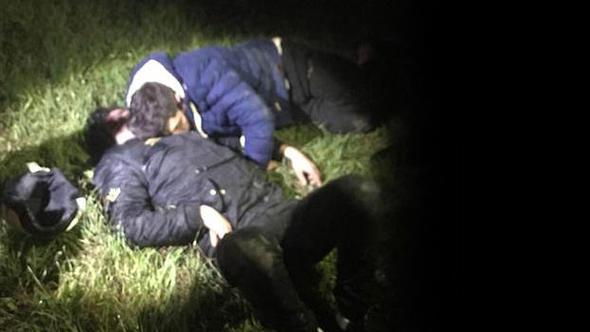 Cezaevi firarileri uyurken yakalandı