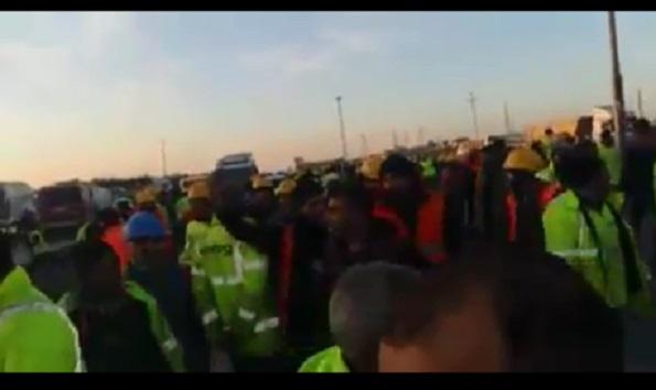 VİDEO | Üçüncü havalimanında işçiler kölelik koşullarına karşı ayakta
