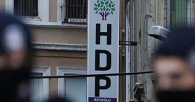 İstanbul'da HDP'ye operasyon: Çok sayıda gözaltı var