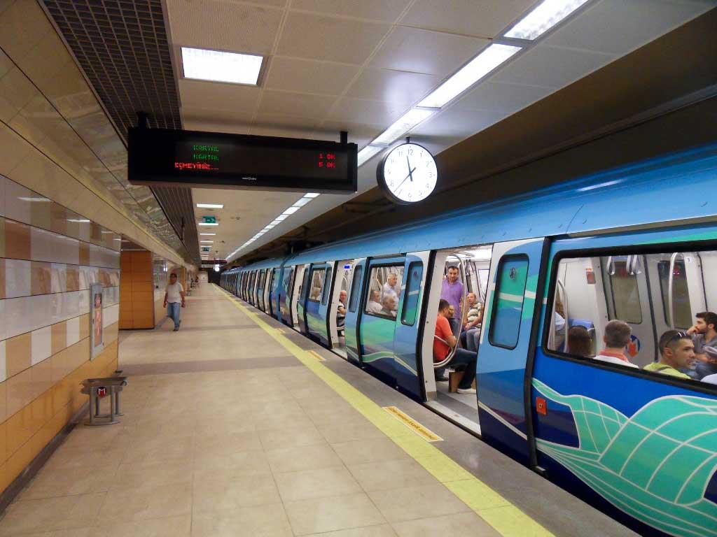 İstanbul metrosunda arıza