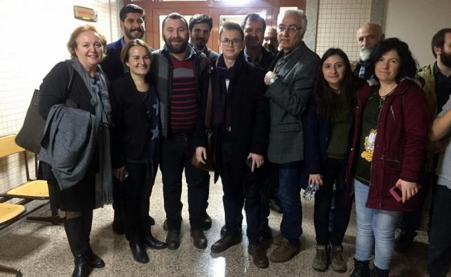 İz Gazete Genel Yayın Yönetmeni Ümit Kartal serbest bırakıldı