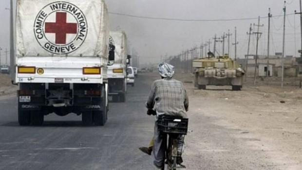 Kızılhaç: Afrin ve Tel Rıfat'a yardım gönderiliyor