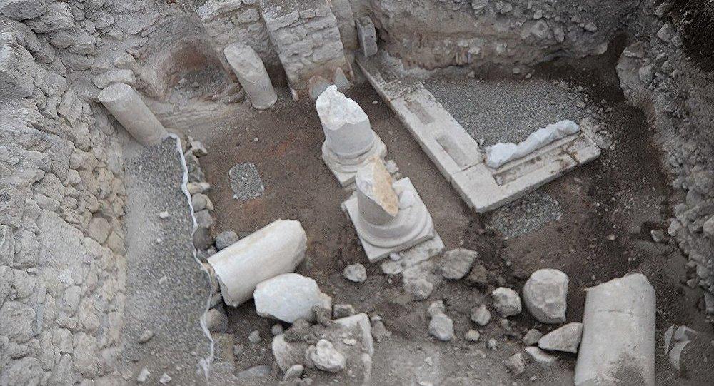 Anadolu'nun en erken kiliselerinden biri bulundu