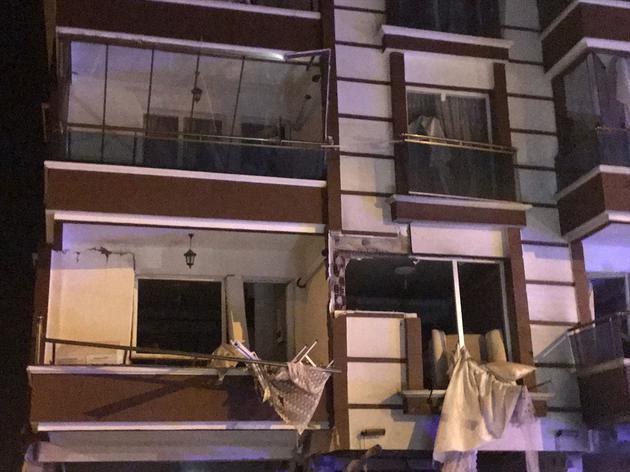 Kırıkkale'de doğalgaz patlaması: 2'si ağır, 10 yaralı