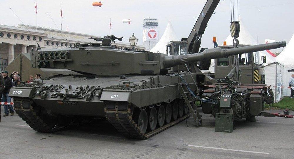 Almanya'nın Türkiye'ye silah ve askeri zırh satımını durdurduğu ortaya çıktı