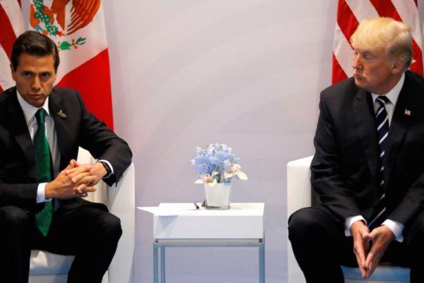 Meksika ile ABD arasında duvar gerilimi sürüyor