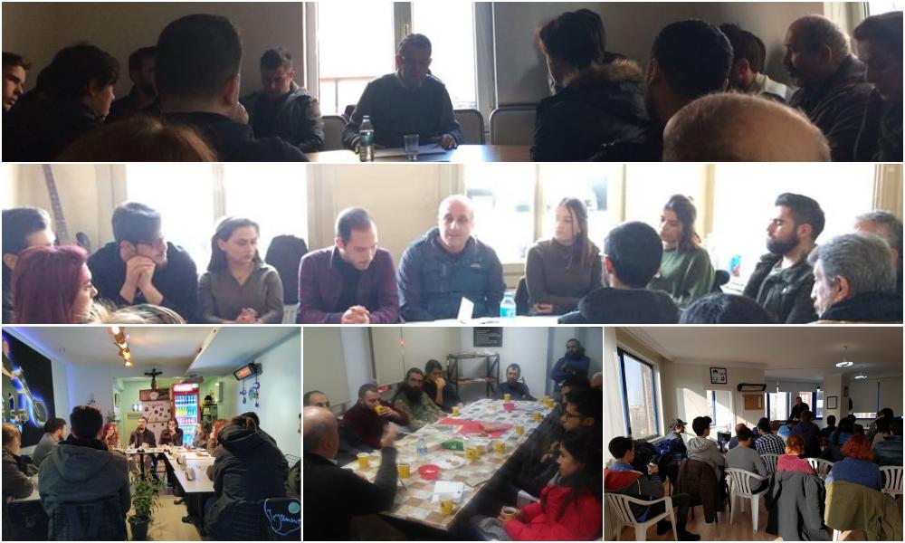 Memleket Sohbetleri'nin Şubat ayı 3. oturumları Afrin gündemiyle yapıldı
