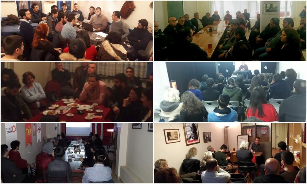 Memleket Sohbetleri İstanbul'da altı noktada yapıldı