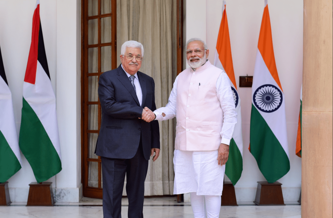 Modi: Hindistan, bağımsız bir Filistin devleti görmeyi umuyor