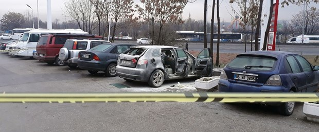 Otomobildeki mutfak tüpü patladı: 1 yaralı