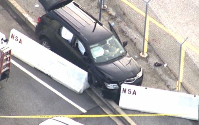 NSA önünde silah sesleri