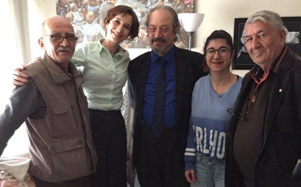 Nuriye Gülmen ziyaretçi kabulüne başladı