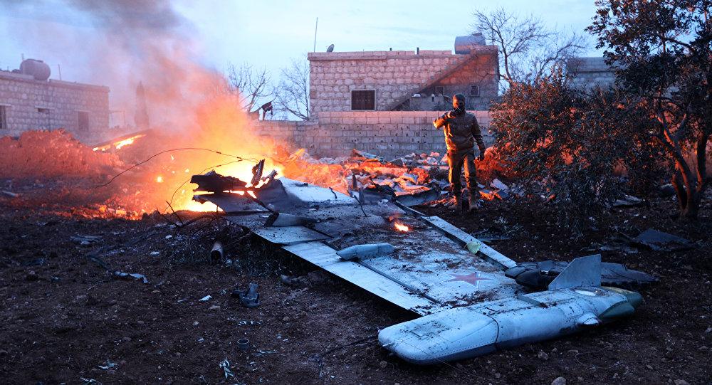 Suriye'de düşürülen Rus uçağına yönelik saldırıyı cihatçı Heyet Tahrir Şam örgütü üstlendi