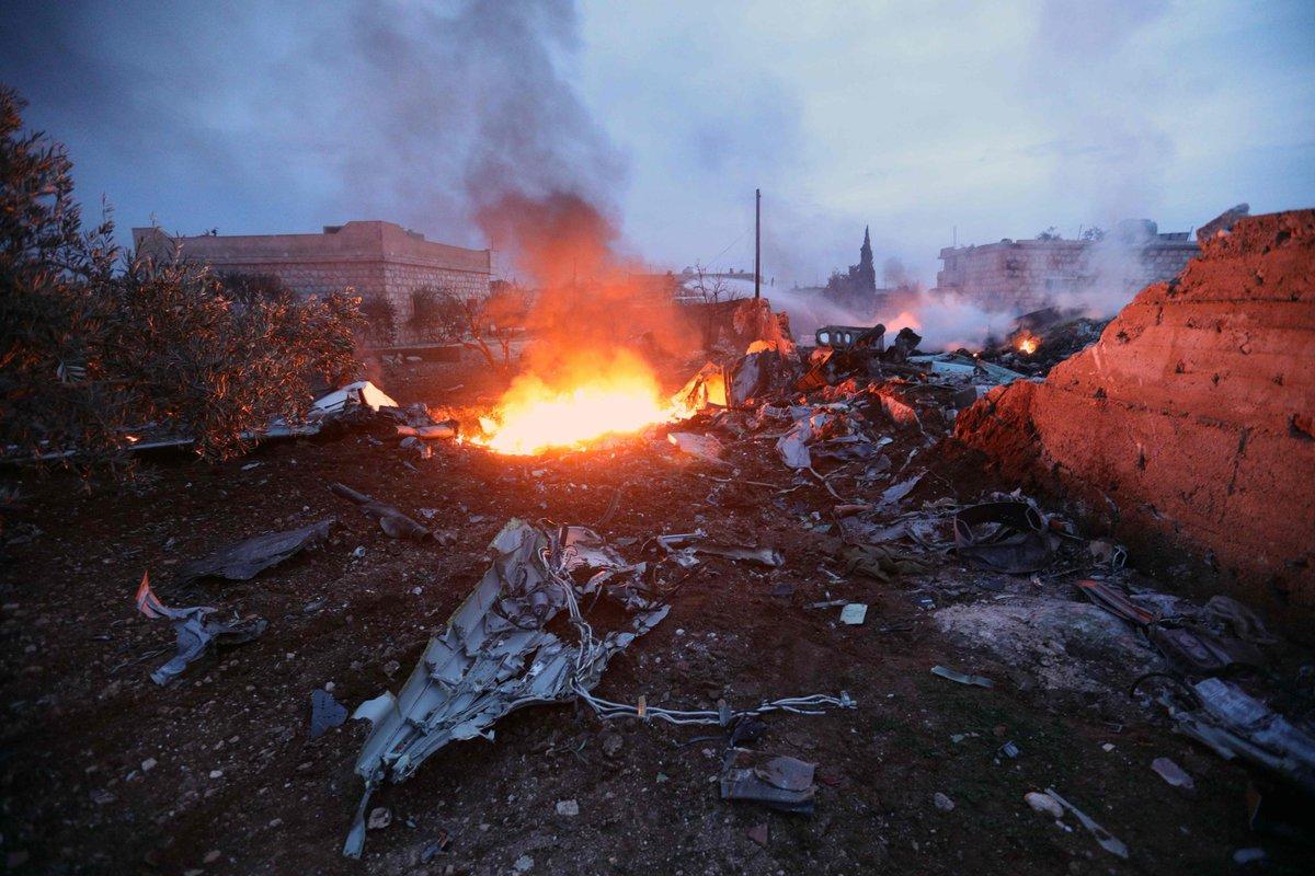 VİDEO | Rus uçağının düşürülme görüntüleri