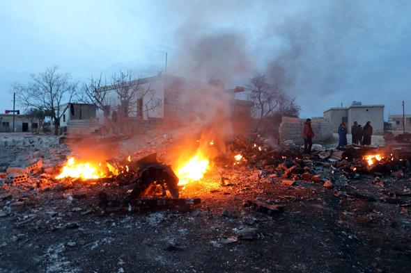 Rus basını: Uçağımızı Türkiye yanlısı militanlar düşürdü