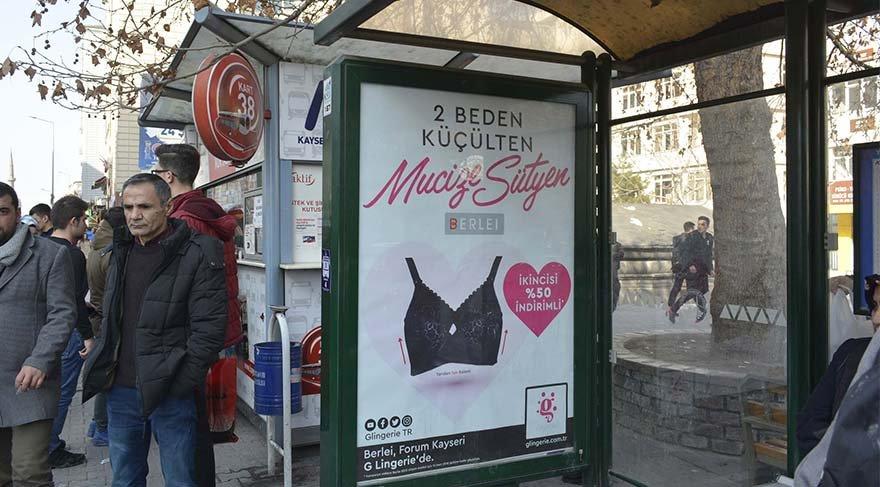 Gericiler 'ahlak dışı' dedi, sütyen reklamı değişti