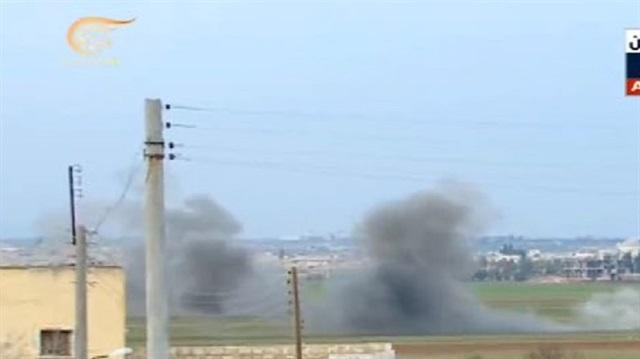 TSK'ya bağlı SİHA'lar Suriye konvoyuna ateş açtı, canlı yayın kesildi