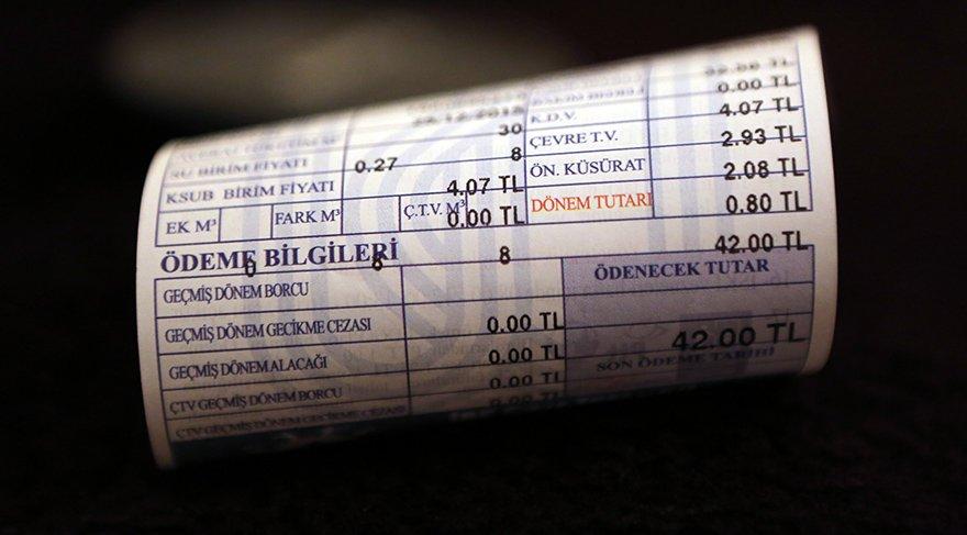 İstanbul'da 580 bin ev ve işyerinin suyu, 493 bin ev ve işyerinin gazı kesildi!