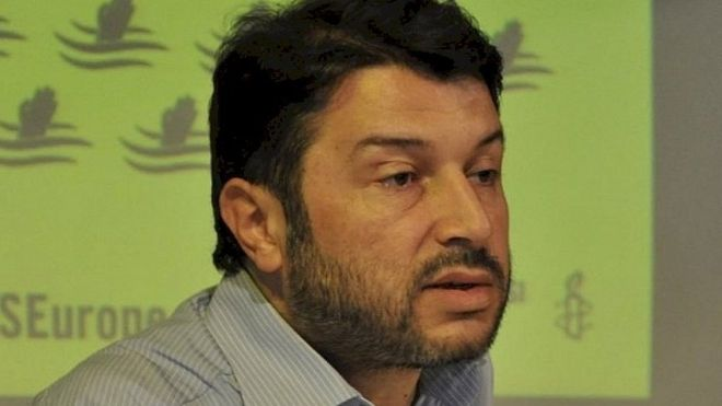 Gözaltına alınan Af Örgütü Türkiye Şubesi Yönetim Kurulu Başkanı Taner Kılıç tekrar tutuklandı