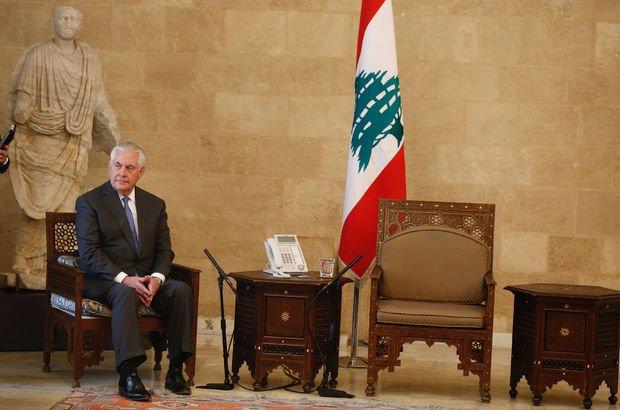 VİDEO | Tillerson Lübnan'da umduğunu bulamadı