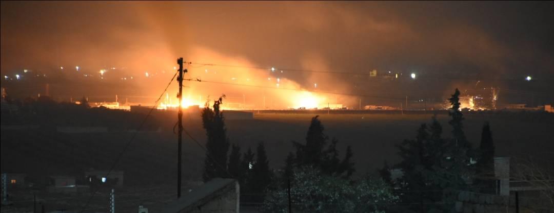 YPG konvoyunun TSK uçakları tarafından bombalandığı iddia edildi