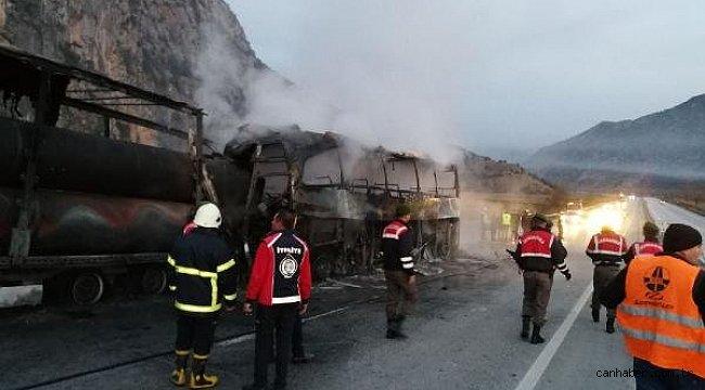 11 kişinin yanarak hayatını kaybettiği kazada dikkat çeken detay