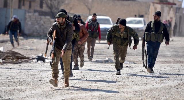 Afrin'de ÖSO çeteleri arasında 'yağma' çatışması: 7 ölü var
