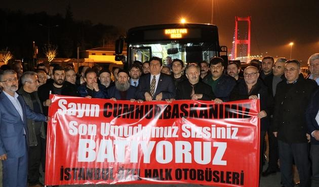 İstanbul'da cuma günü otobüsler kontak kapatacak