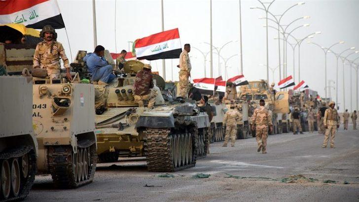 Irak ordusu PKK'nin çekildiği Sincar'a girdi