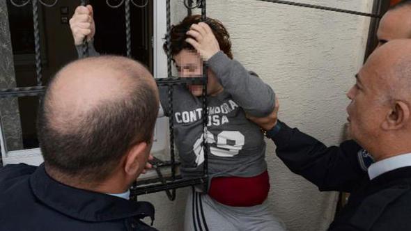 Kadına yönelik şiddet bitmiyor: İlk önce darp etti, sonra eve kilitledi