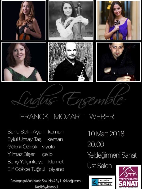 Ludus Ensemble'dan Kadıköy'de konser