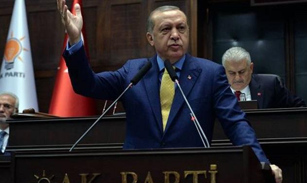 AKP'in grup toplantısı iptal edildi