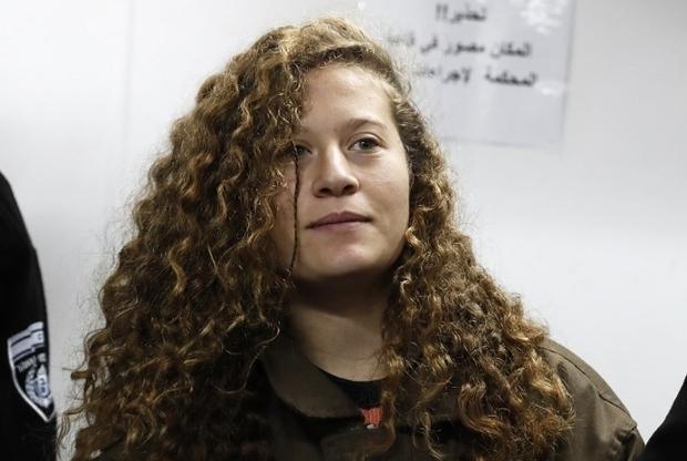 Filistinli direnişçi Tamimi'ye gözaltında cinsel taciz