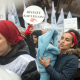 İKD 4 Mart Taksim eylemi