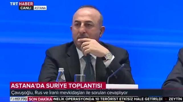 VİDEO | Çavuşoğlu soruları beğenmedi: Biraz FETÖ'cü gibi gördüm sizi