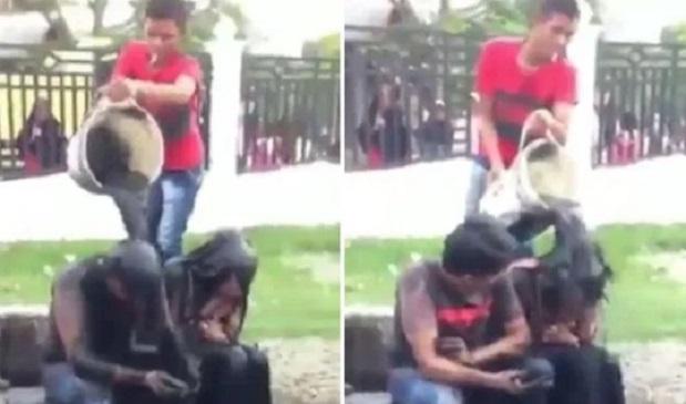 VİDEO | Şeriat manzaraları: 'Zina'yla suçladıkları çifti kanalizasyona buladılar