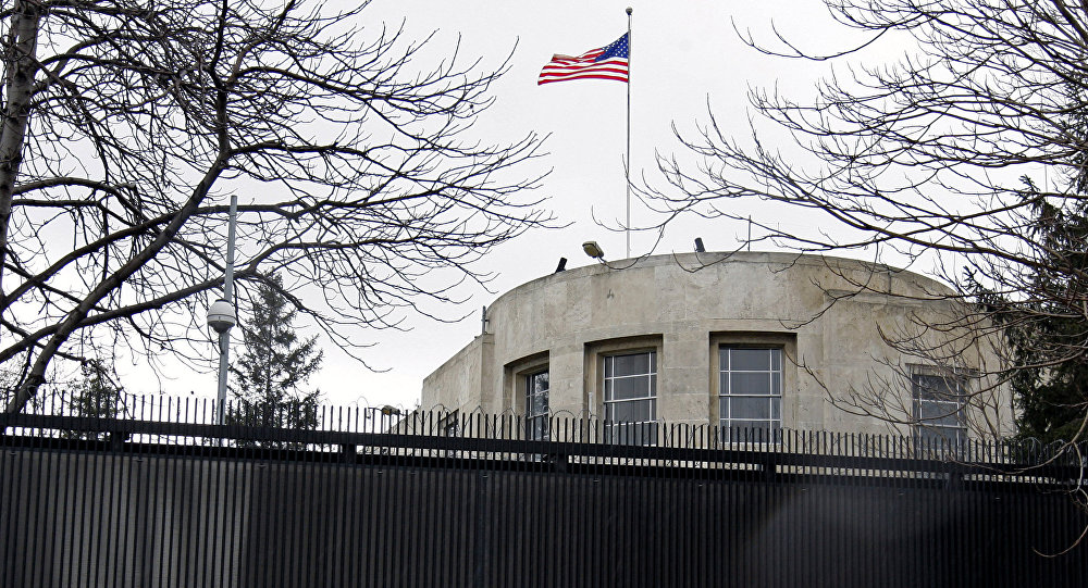 ABD'nin Ankara Büyükelçiliği kapatıldı!