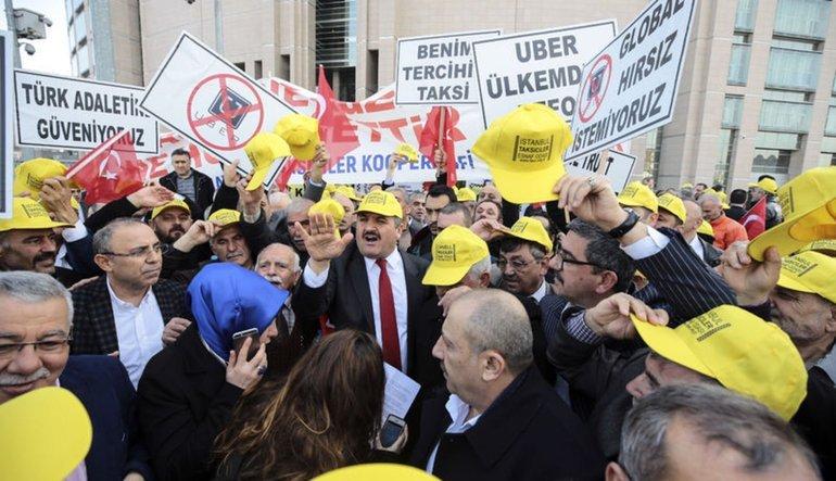 Taksiciler Esnaf Odası Başkanı: Sağı solu yakıp yıkmak istemiyoruz