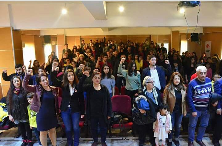 İKD'den Antep'te kitlesel 8 Mart etkinliği