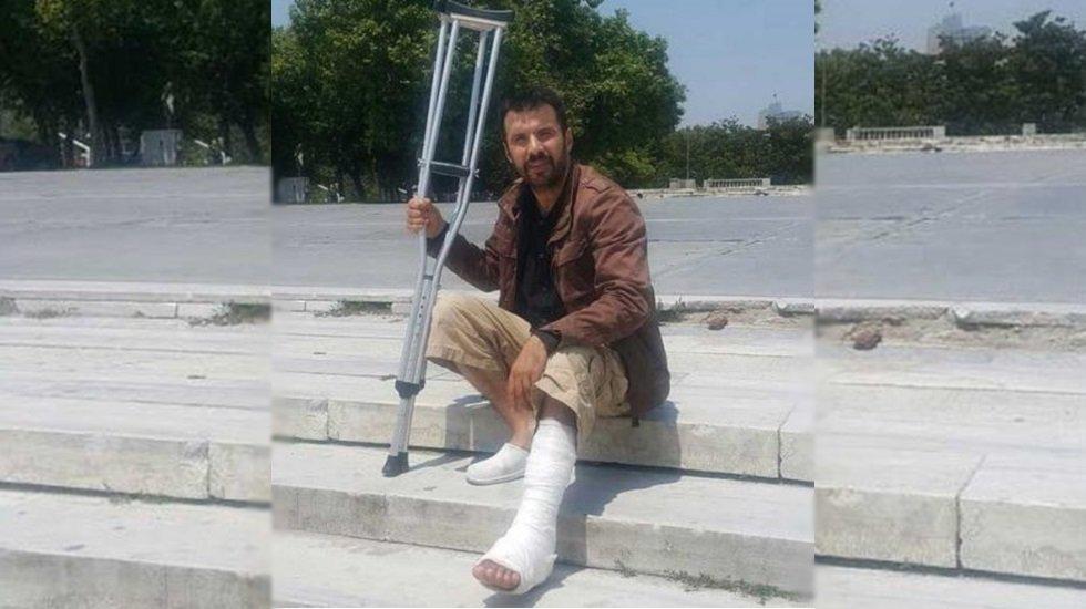 Gezi'de yaralanan Aydın Aydoğan: Polisler,
