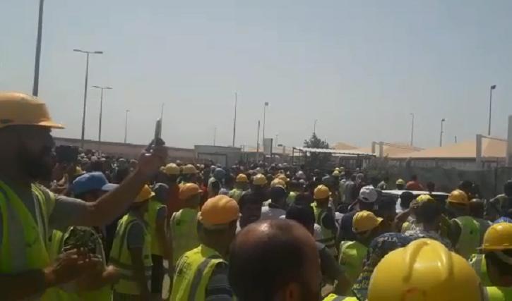 VİDEO | Arabistan'daki büyük grevde Türk patronlara öfke yükseliyor!