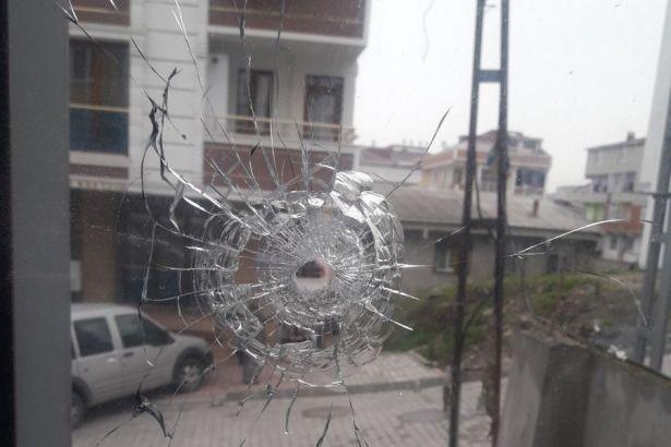 DBP binasına silahlı saldırı