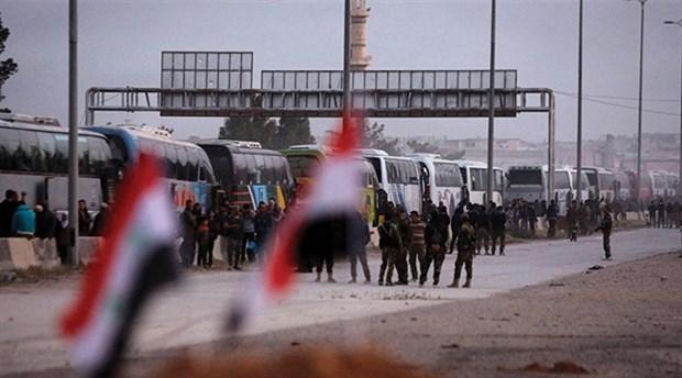 38 bin cihatçı, aileleriyle birlikte İdlib'e ulaştırıldı