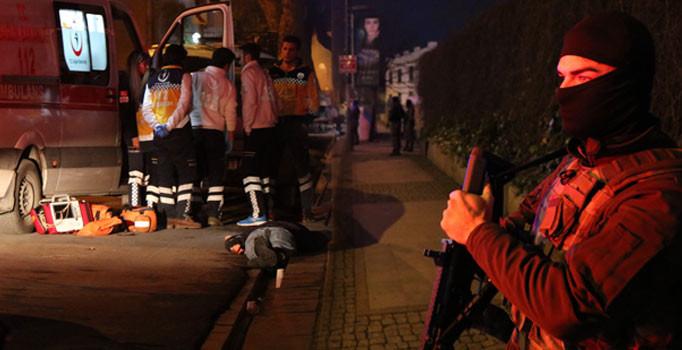 Beşiktaş'ta silahlı çatışma: 1 ölü, 3 yaralı
