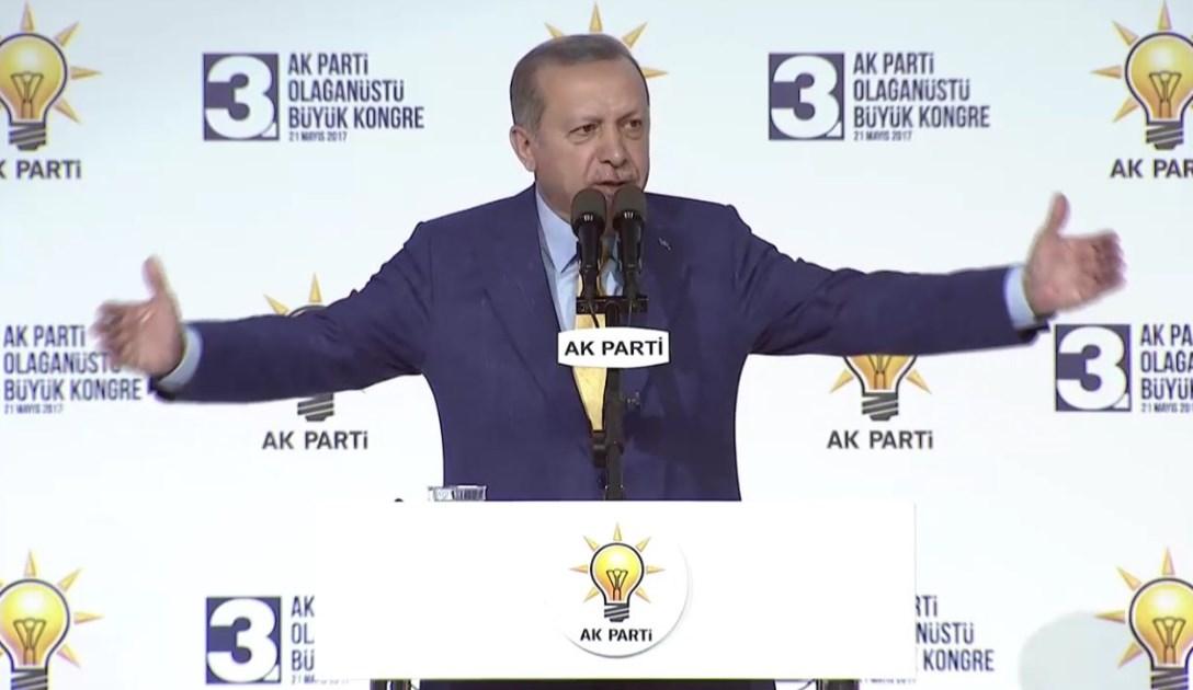 Erdoğan'ın kongre programı iptal oldu