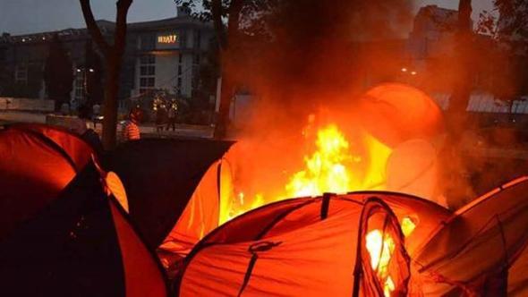 Gezi'de 'çadırları yakın' talimatı veren polis müdürü için karar