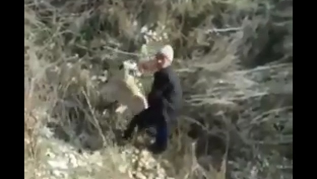 Yine iğrenç görüntüler: Eski imam köpeğe tecavüz ederken yakalandı