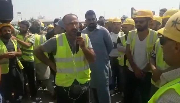 Türkiyeli işçilerin Arabistan'daki büyük grevi sürüyor