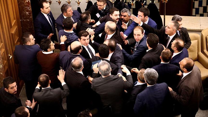 Meclis'teki kavga zabıtlara böyle yansıdı